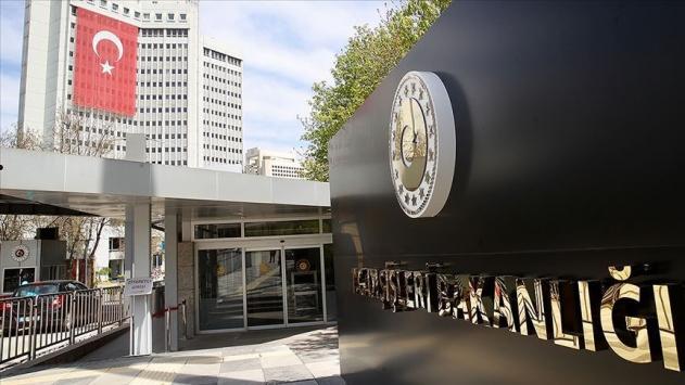Dışişleri Bakanlığından Alman Die Welt gazetesi ve Yunanistana tepki