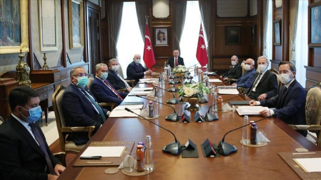 Cumhurbaşkanlığı Yüksek İstişare Kurulu Erdoğan başkanlığında toplandı