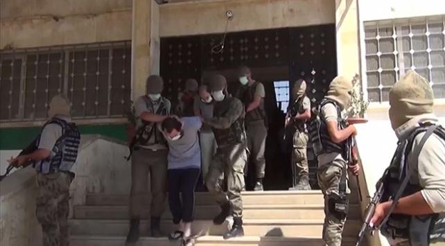 Azezde DEAŞ operasyonu: 10 tutuklama