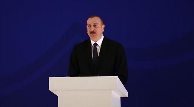 Aliyev Yunanistan Büyükelçisini kabul etti: Türkler bizim kardeşimiz