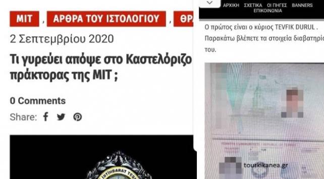 Yunanistanın Meis Adasındaki Anadolu Ajansı ekibine tehdit