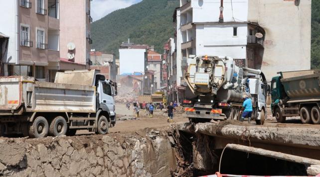 Sel felaketinin yaşandığı Giresuna 5 milyon lira ek kaynak