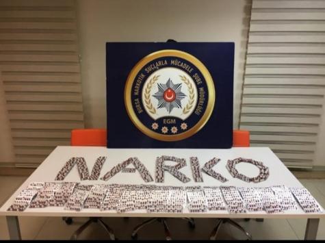 Bursada uyuşturucu operasyonunda 3 şüpheli tutuklandı