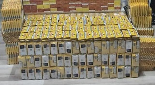 Mersinde kaçak 50 bin elektronik sigara ele geçirildi