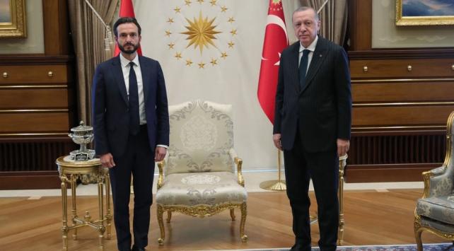 Cumhurbaşkanı Erdoğan, AİHM Başkanı Spanoyu kabul etti