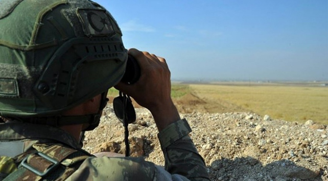 Barış Pınarı bölgesinde çok sayıda el yapımı patlayıcı ele geçirildi