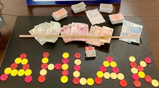 Kütahyada kumar operasyonu: 18 gözaltı