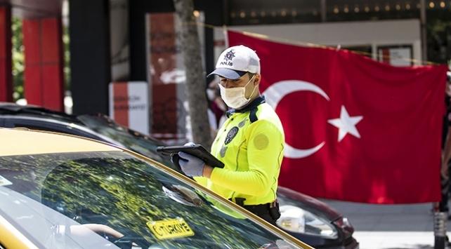 Kırklarelinde maske takmayan 18 kişiye 16 bin 200 lira ceza uygulandı
