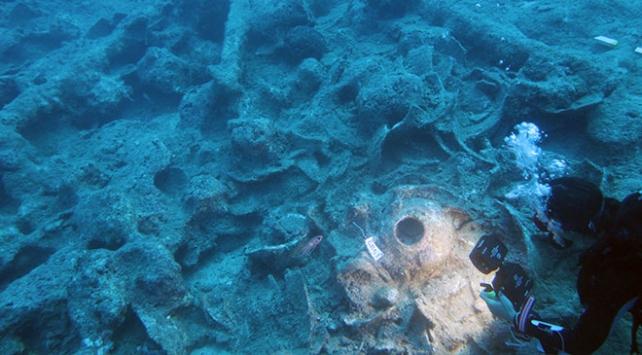 Antalyada Osmanlı savaş gemisi batığı bulundu