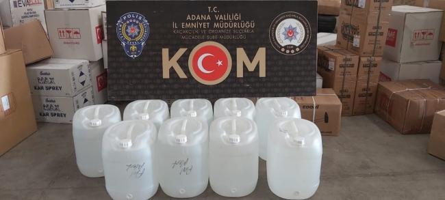 Adanada kaçakçılık operasyonlarında 4 zanlı yakalandı