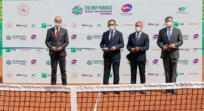 İstanbul Tenis Merkezi açıldı