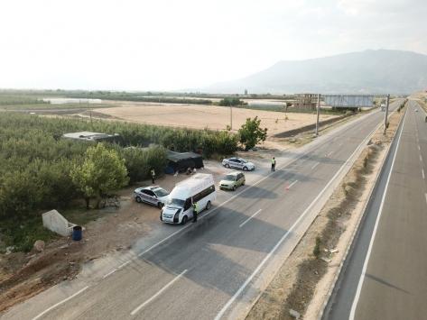 Antalyada 670 sürücüye 312 bin 500 lira ceza kesildi