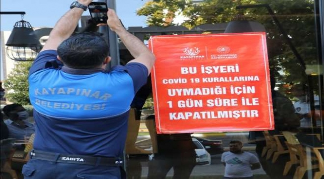 Diyarbakırda tedbirlere uymayan iş yerlerine geçici kapatma cezası