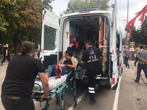 Sakaryada bıçaklı saldırıya uğrayan 13 yaşındaki kız yaralandı