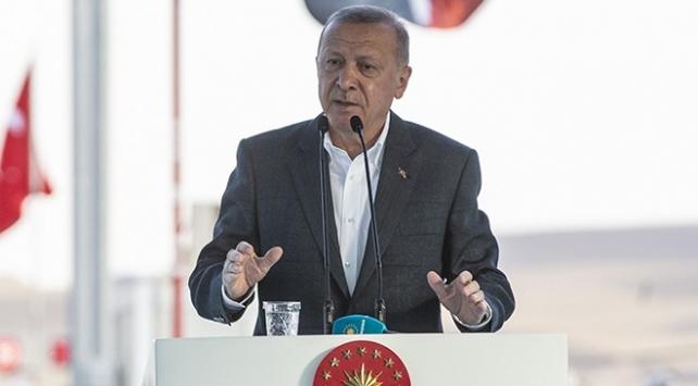 Cumhurbaşkanı Erdoğan: Ankara-Niğde Otoyolu geleceğin otoyolu olacak