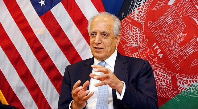 ABDnin Afganistan Özel Temsilcisi Halilzad Katara gitti