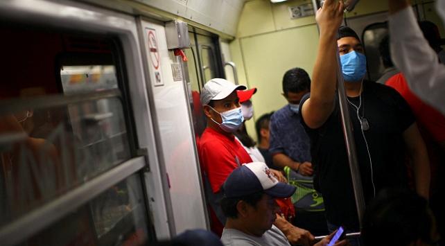 Meksikada 475 kişi daha koronavirüsten öldü