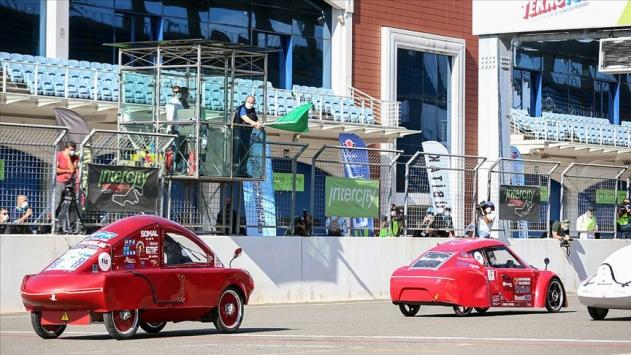 16. TÜBİTAK Efficiency Challenge Elektrikli Araç Yarışlarının özel yarışı İstanbul Parkta yapıldı