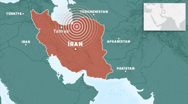 İranın kuzeyinde 5,1 büyüklüğünde deprem