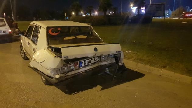 İnegölde trafik kazası: 1 yaralı