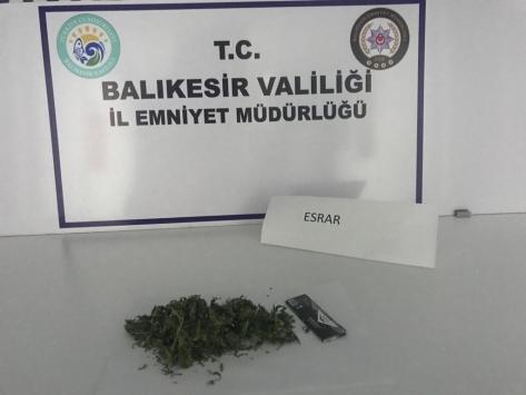 Balıkesirde uyuşturucu operasyonlarında 10 şüpheli yakalandı