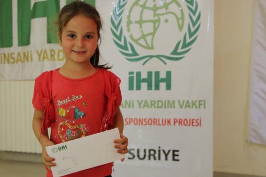 İHHden İdlib ve Halepte 9 bin 337 yetim için nakdi yardım
