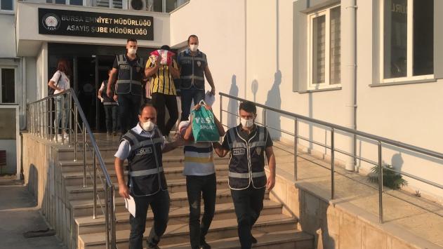 Bursa merkezli fuhuş operasyonunda 15 şüpheli gözaltına alındı