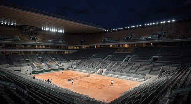 Teniste Fransa Açık heyecanı başladı