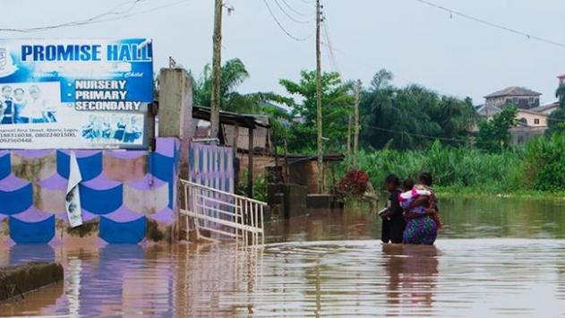 Nijeryada sel felaketinde 24 kişi öldü