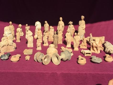 Myra Antik Kentinde 2200 yıllık pişmiş toprak eserler bulundu