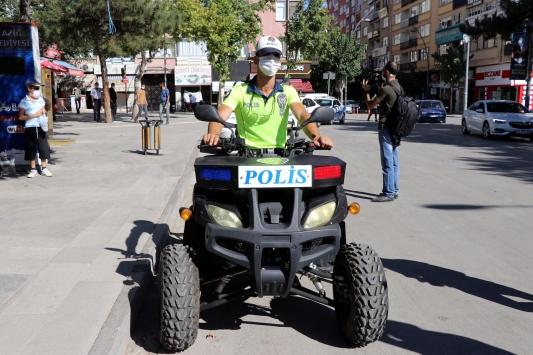 Elazığda ATV motorlu polis timleri göreve başladı
