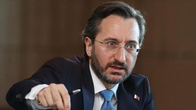 İletişim Başkanı Altundan TRTyi hedef gösteren Yunan ırkçı siteye tepki