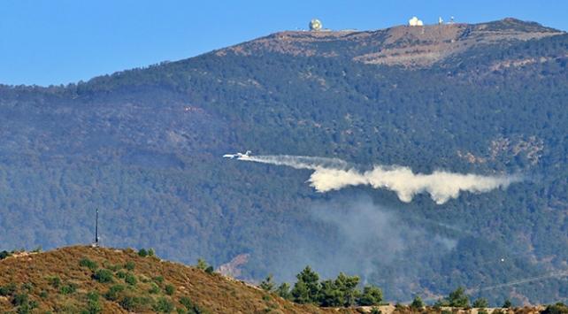 Hataydaki orman yangını 5 gündür sürüyor