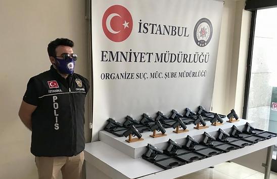 İstanbulda silah kaçakçılığı yaptığı öne sürülen şüpheli tutuklandı
