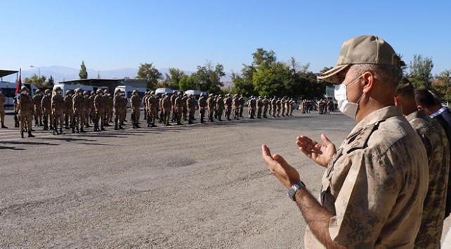 154 Mehmetçik Elazığdan Suriyeye uğurlandı