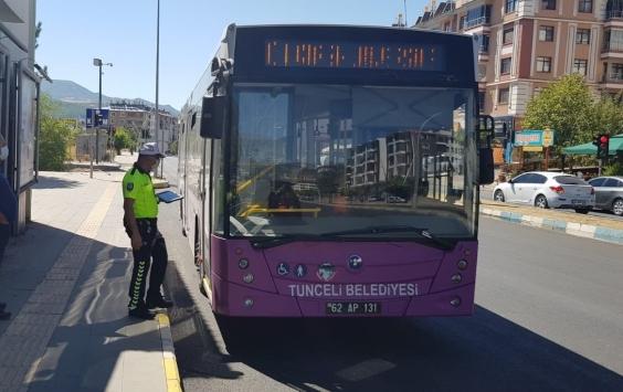 Erzurum ve Tuncelide Kovid-19 denetimleri sürüyor