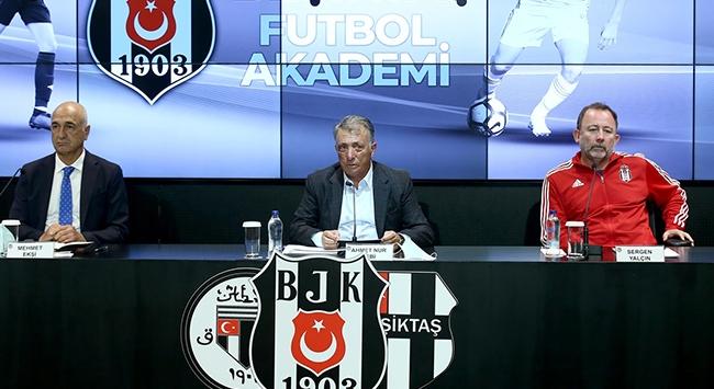 Beşiktaşın altyapısında yeni dönem başladı
