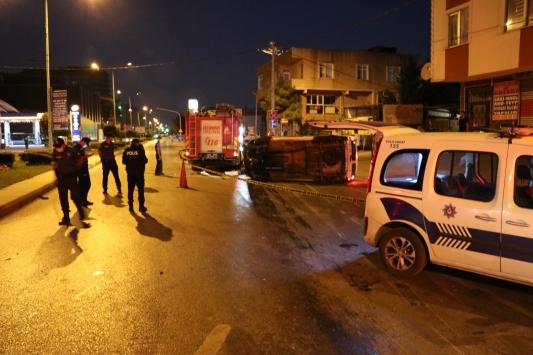 Sancaktepede trafik kazası: 1 ölü