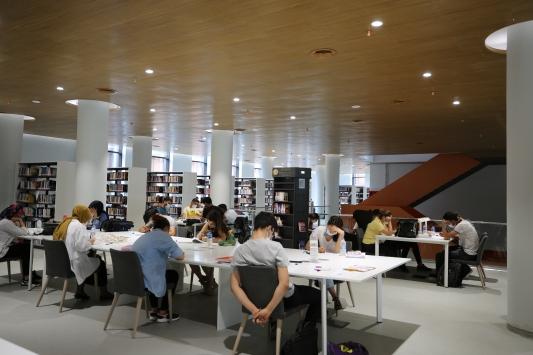 Diyarbakırlı kitapseverler, özlem duydukları yeni kütüphaneye kavuştu