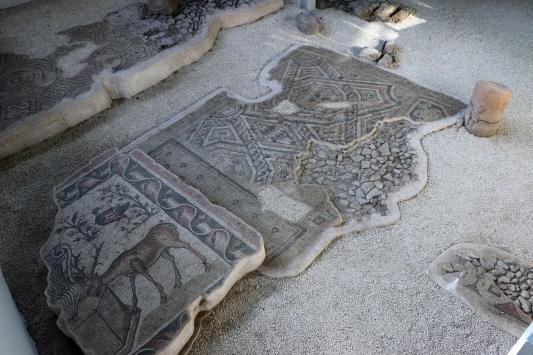 Germanicia Antik Kentinde sergilenen mozaik alanları artıyor