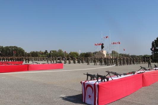 KKTCde askeri yemin töreni