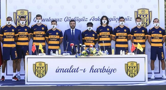 MKE Ankaragücü yeni transferlerini tanıttı