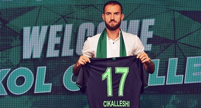Sokol Cikalleshi Konyasporda