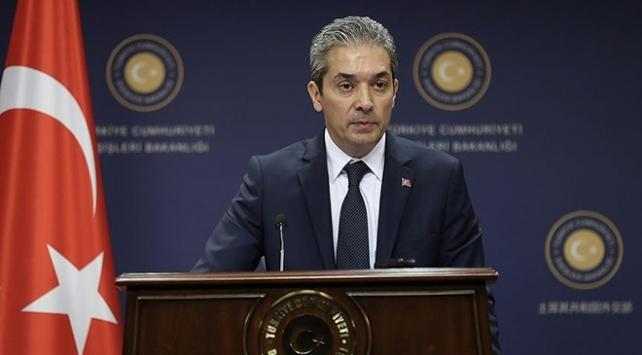 Dışişleri Bakanlığı Sözcüsü Aksoy: Gülen Kürsüsünün kapatılması memnuniyetle not edilmiştir