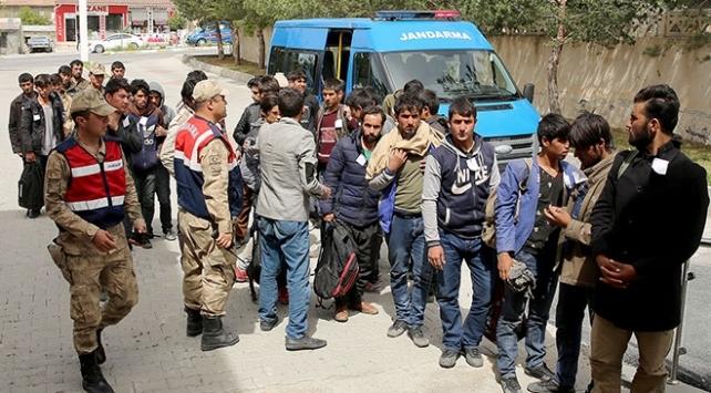 Bitliste 78 sığınmacı yakalandı