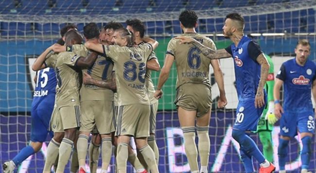 Fenerbahçe Rizede kazandı