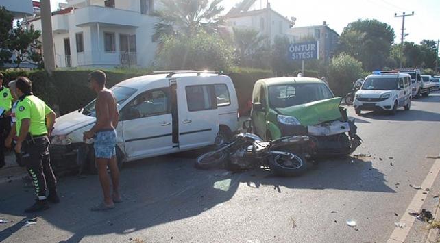 Aydında zincirleme trafik kazası: 4 yaralı