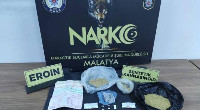 Malatyada uyuşturucu operasyonu: 6 tutuklama