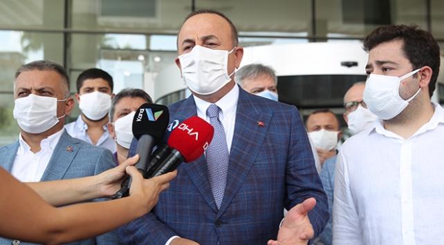 Çavuşoğlu: Muhittin Başkanımız her geçen gün daha iyiye gidiyor