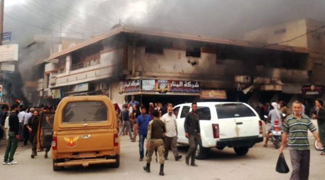 Rasulaynda bombalı terör saldırısı: 21 yaralı